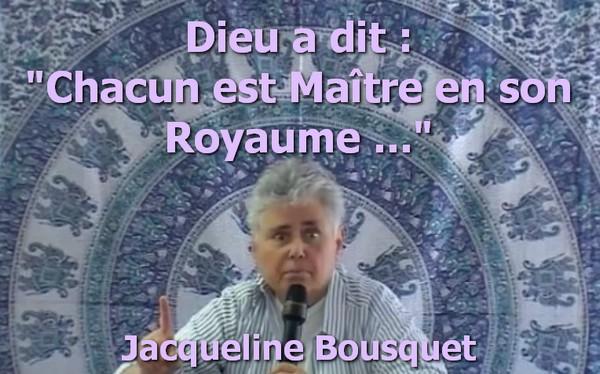 Bousquet Jacqueline maitre royaume