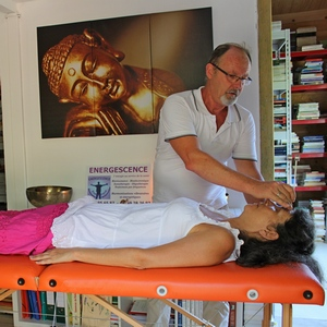energescence sonotherapie séance diapason tete