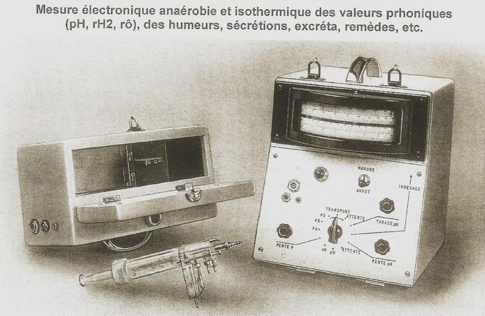 bioelectronimetre premiers appareils
