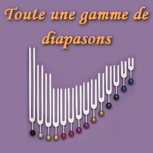 sonotherapie gamme diapasons