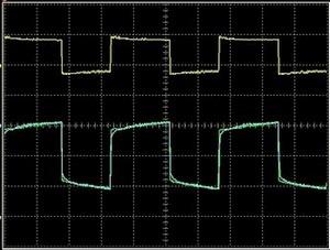 signaux carrés oscillo zapper
